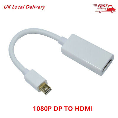 MINI ThunderBolt Display Port DP to HDMI Cable Adapter For Macbook Pro Air iMac
