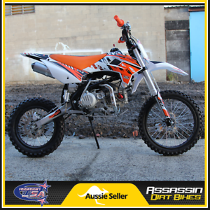 ASSASSIN A190 ZONGSHEN ZS190 DIRT BIKE 190CC 14R 17F PIT TRAIL Taren Point Sutherland Area Preview