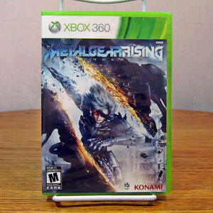 Xbox 360 Metal Gear Rising Rising Revengeance Brand New