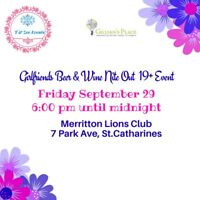 Girlfriends Nite Out Friday Sept 29