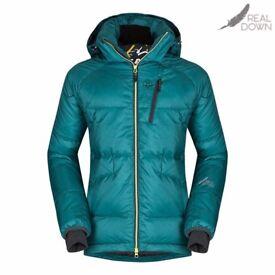 Zajo Mens Real Duck Down Jacket -Size Large/ Color Jasper