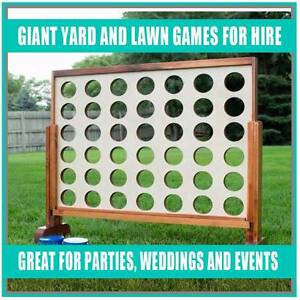Giant Garden/Lawn Games - Perfect for Indoor or Outdoor Parties! Sydney City Inner Sydney Preview