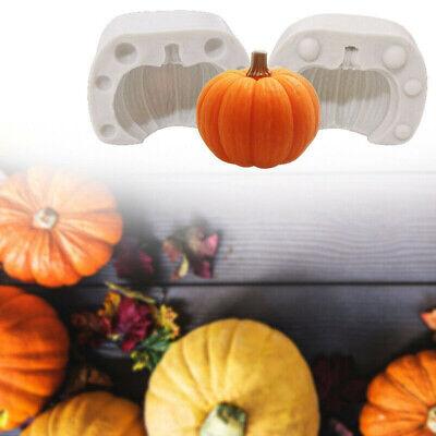 Halloween Cake Fondant (Halloween Pumpkin Mold Silicone Fondant Tool Cake Chocolate Sugarcraft DIY)