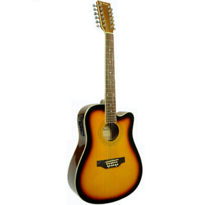 12 String Acoustic Electric Guitar - FOR SALE