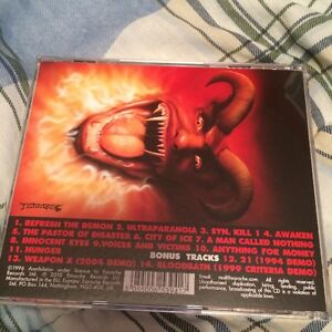 Annihilator - Refresh the Demon CD Kingston Kingston Area image 4