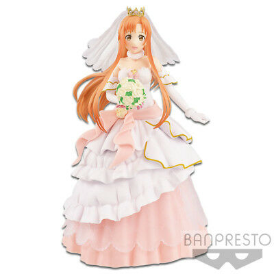 Banpresto Sword Art Online EXQ Code Register Figure Wedding Yuuki Asuna BP38785 segunda mano  Embacar hacia Argentina