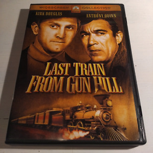 DVD Last Train From Gun Hill English 1959 Colour