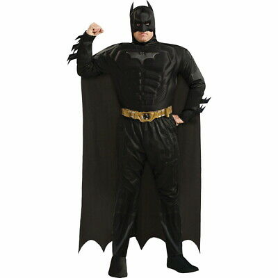 Knight Costume For Adults (Batman: The Dark Knight Rises Muscle Costume Deluxe for Adults, Plus Size)