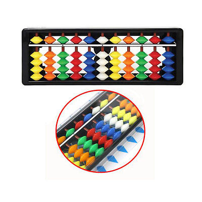 Korean Abacus 11 Digits Mathematic Calculator Color Children brain training