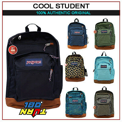 JANSPORT 100% AUTHENTIC COOL STUDENT BIG BACKPACK ORIGINAL SCHOOL BOOK