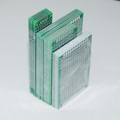 20pcs Pcb Prototype Board Circuit Stripboard 2x8 3x7 4x6 5x7 5pcs Each Veroboard