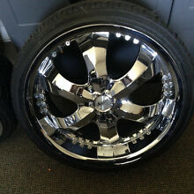 4 X 20 INCH MAGS AND TYRES 6 STUD Fremantle Fremantle Area Preview