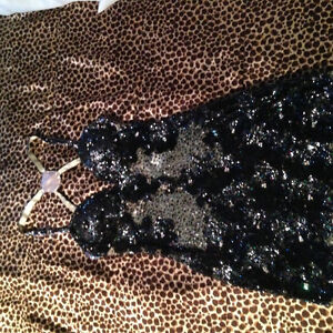 JOVANI SEQUINED COCKTAIL DRESS