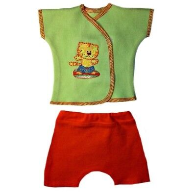 Baby Boys Surfing Tiger Shorts and Shirt Clothing - 4 Preemie and Newborn Sizes
