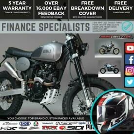 Bullit Hero EFI 125 125cc Scrambler On & Off Road *FINANCE & UK/IRE DELIVERY*