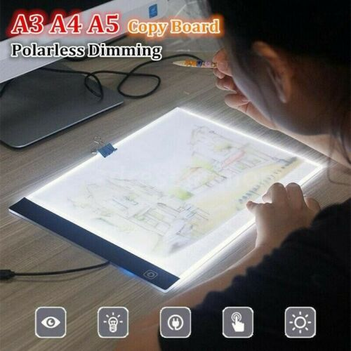 USB Charge A3 A4 A5 LED Light Box Stencil Board Diamond Painting Drawing Pad