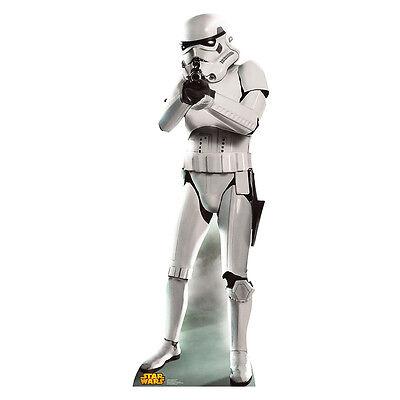 STORMTROOPER Star Wars Lifesize CARDBOARD CUTOUT Standup Standee Poster F/S