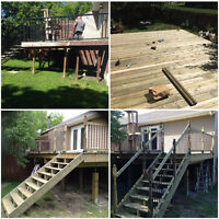 Need a new fence or deck?