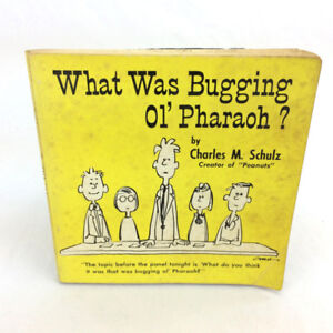 What Was Bugging Ol' Pharaoh Book Charles M Schulz Religious