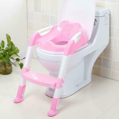 Asientos inodoro Plegables orinal Baño Bebés Niños Escalera Ajustable