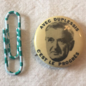 Maurice Duplessis Item pour Musée