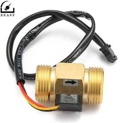 Flow Sensor G34 Dn20 Copper Hall Effect Liquid Water Switch Meter