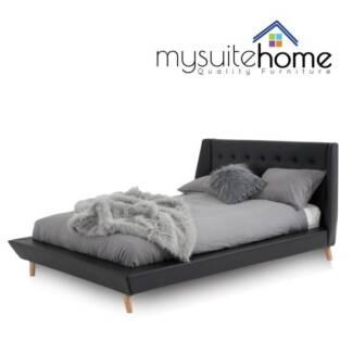 Blake PU Leather Bed Frame Platform