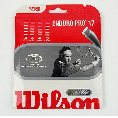 Wilson Enduro Pro 17 Tennis String Tennis Racquet String US Open Official