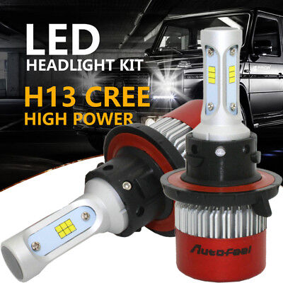 2X Cree H13 9008 860W 107500Lm Led Headlight Kit Hi Lo Bulbs 6500K High Power Us
