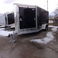 Various Models NEW Cargo, Car, Sled, Motorcycle and ATV Trailers