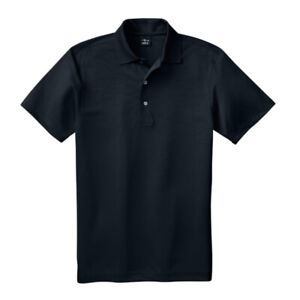 NEW Men Page & Tuttle Black Golf Polo T-Shirt / Jersey