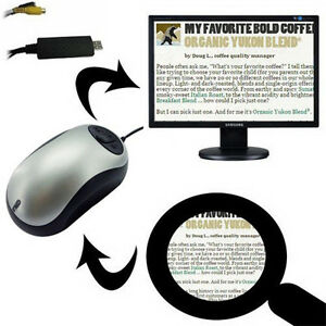 Magnifier: Wireless Page-to-TV Magnifier Electronic Reading Aid
