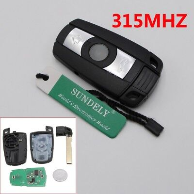 Hot Remote Control Car Key Fob For BMW 1/3/5/6/7 Series Replacement Smart 315Mhz