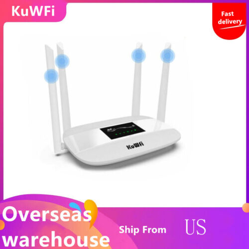 Unlocked 300Mbps 4G LTE CPE wireless router with SIM card so