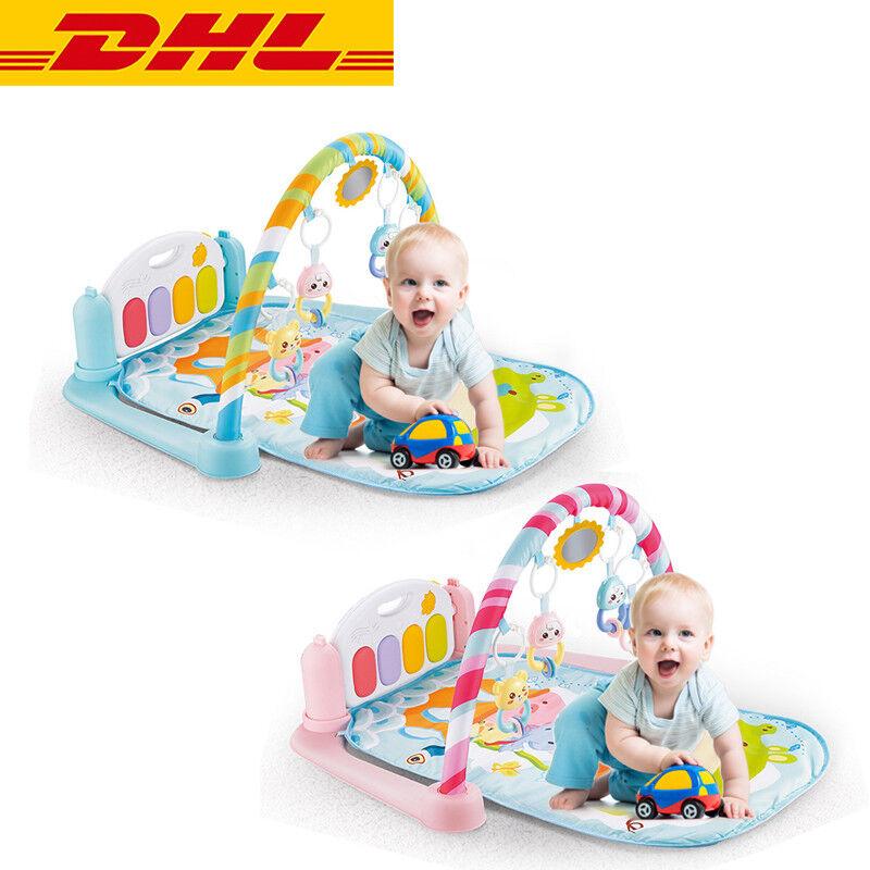DHL Baby Musik Spiel-Decke Spiel-Bogen Erlebnis-Decke Activity Spielcenter Gym