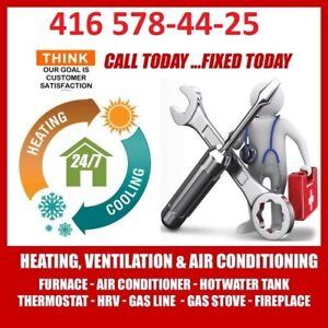Rooftop,Furnace,Ac,Stove,Gas,Tank,Humidifier,Duct