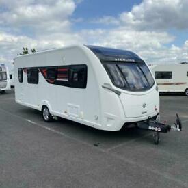 2016 STERLING Eccles Elite 565 Touring Caravan - 4 berth