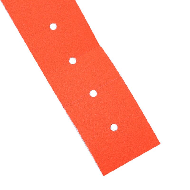 500pcs//roll Colorful Price Label Paper Tag Mark Sticker For MX-5500 Labeller Gun