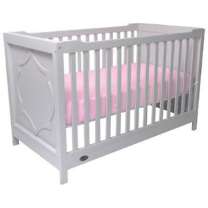 Kidiway Moon Solid Wood 4-in-1 Convertible Crib - Grey Brand new