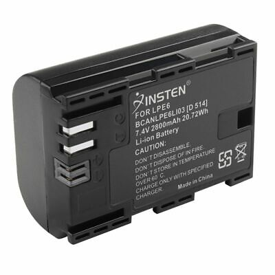 1 pc LP-E6 Li-ion battery For Canon EOS 7D