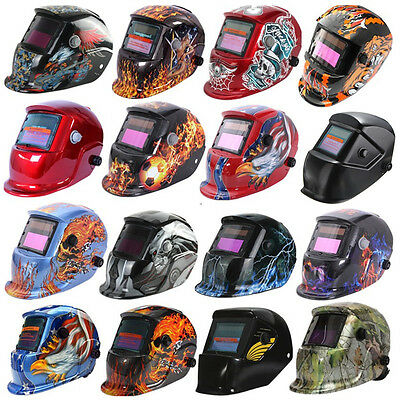 Pro Solar Auto Darkening Welding Helmet Arc Tig Mig Grinding Welder Mask Protect