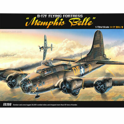 [ACADEMY] #12495 B-17F FLYING FORTRESS MEMPHIS BELLE 1/72
