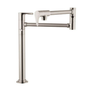 Hansgrohe 39838801 Axor Citterio Deck Mounted Pot Filler Steel O