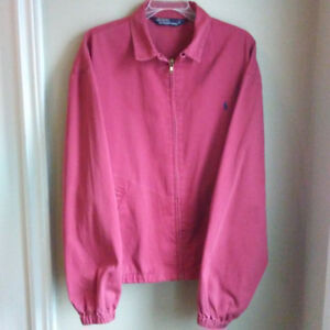 Polo Ralph Lauren Red Jacket (Size M/L)