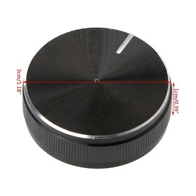 (Seiko Aluminum Alloy Rotary Control Potentiometer Knob 30x10mm 6mm Shaft Hole)