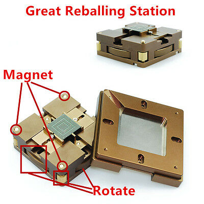 Bga Reballing Station Auto Magnet Stencil Solder Rework Kit Soldering Station