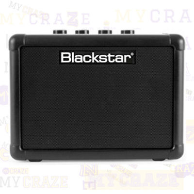 Black Star Amps FLY-3 portable Electric Acoustic Guitar Amp 2 channel gain mp3 (Acoustic Portable Amps)