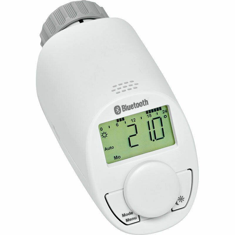 Eqiva Bluetooth Smart Elektronik-Heizkörperthermostat 141771E0