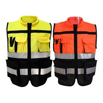 Reflective Safety Vest Traffic Road Construction Night Sanitation Safety Cloth