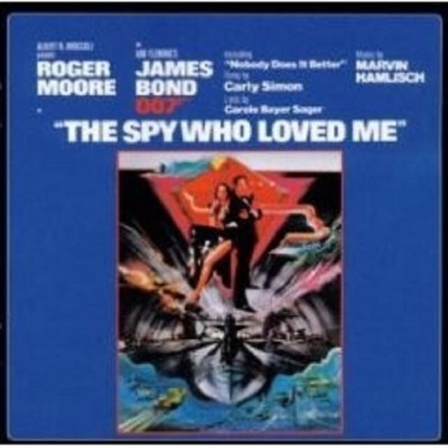 THE SPY WHO LOVED ME (REMASTER) CD OST NEU